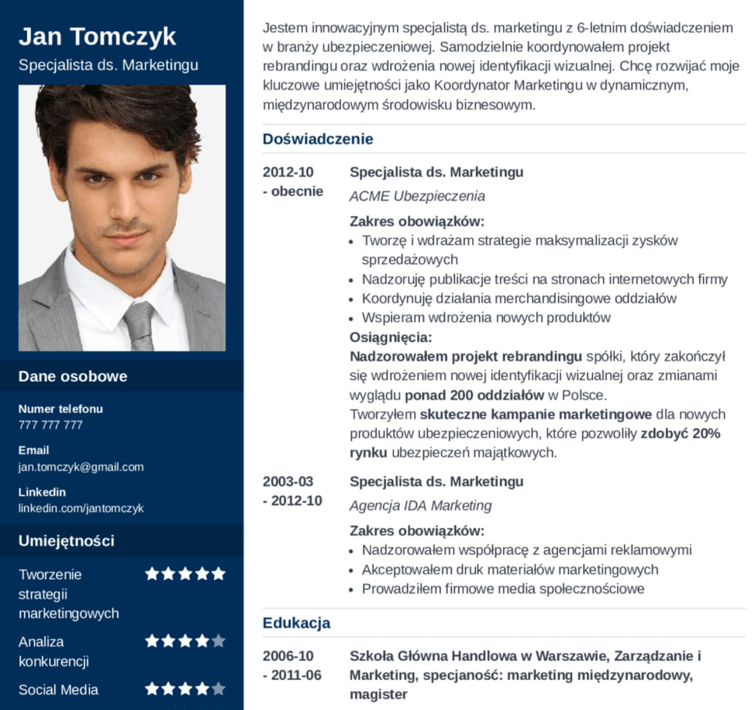 InterviewMe. Najlepszy kreator CV online.