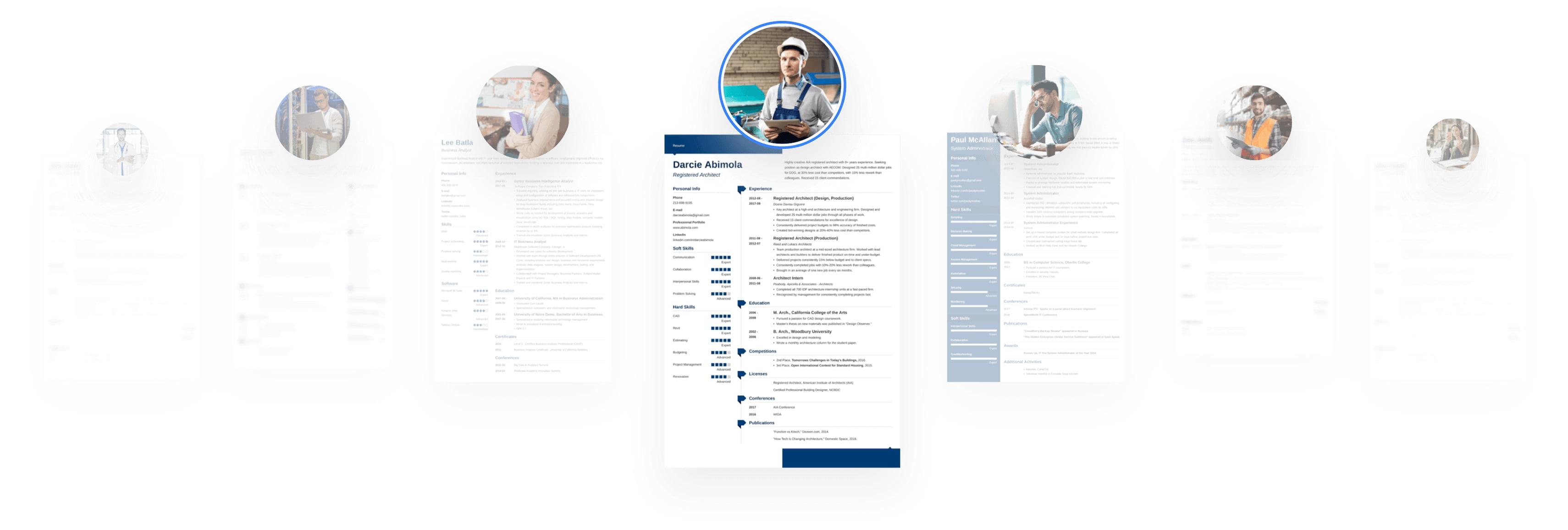 Odkryj wzory CV dla 200+ zawodów
