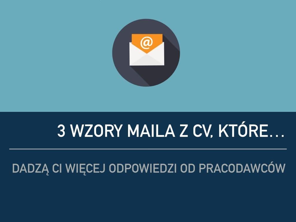 wzory cv - wzory maila z cv