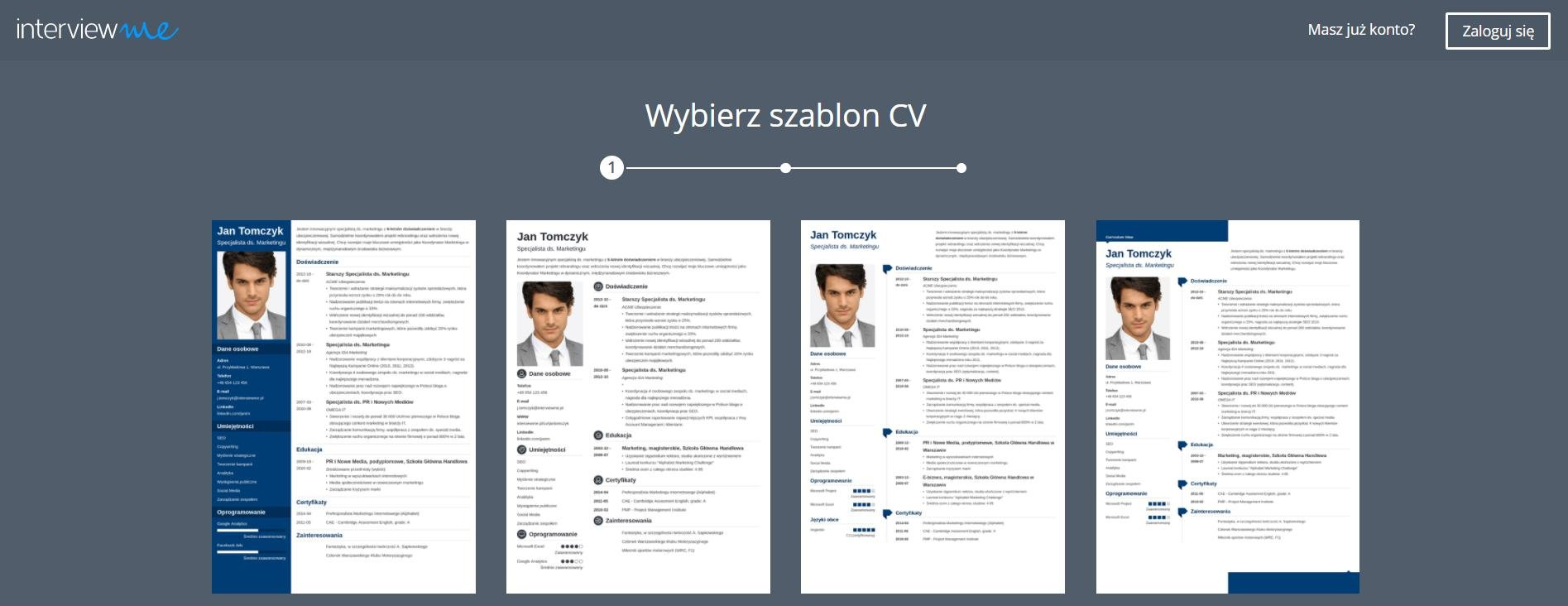 Program do CV