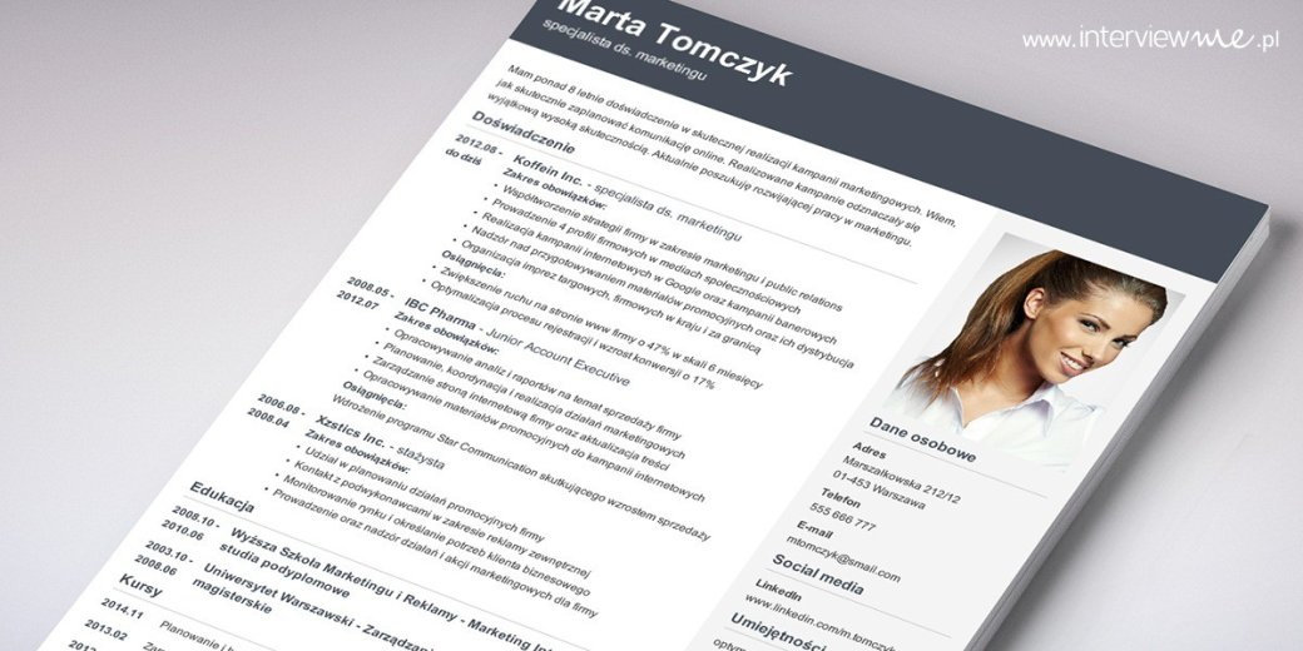 Jak powinno wyglądać CV i co zawierać. Wzór, przykłady + 6 porad