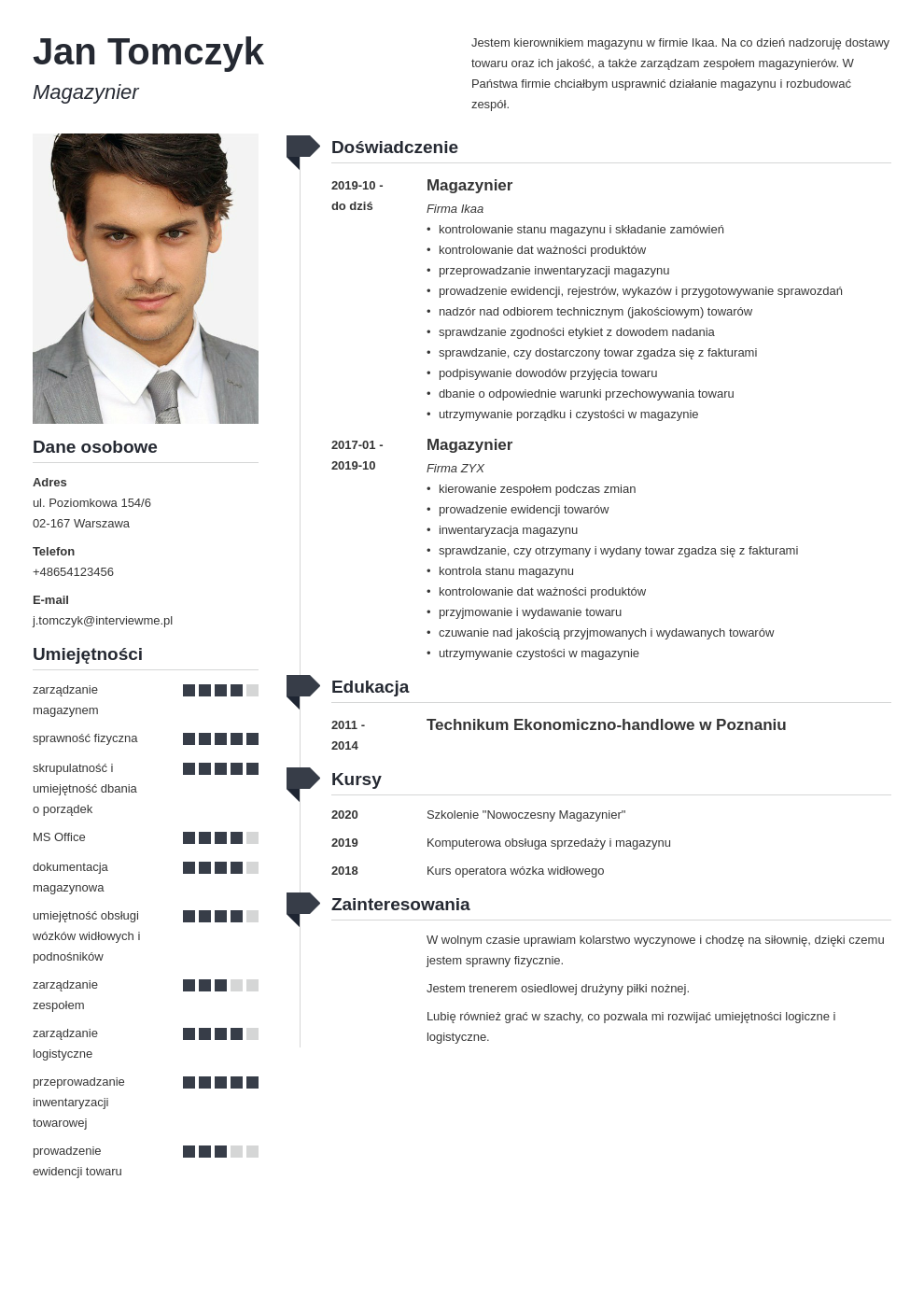 curriculum vitae 8 zbednych elementow template muse