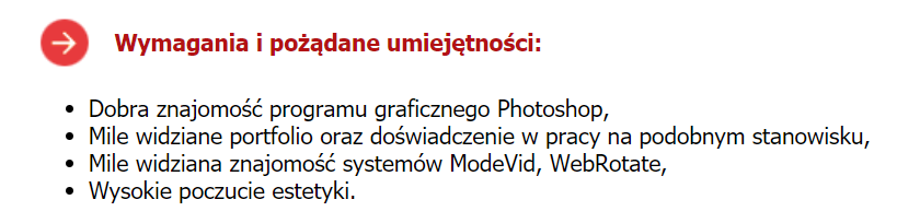 cv fotografa wzór