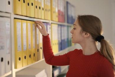CV i list motywacyjny sekretarki - Wzór (też do szkoły)