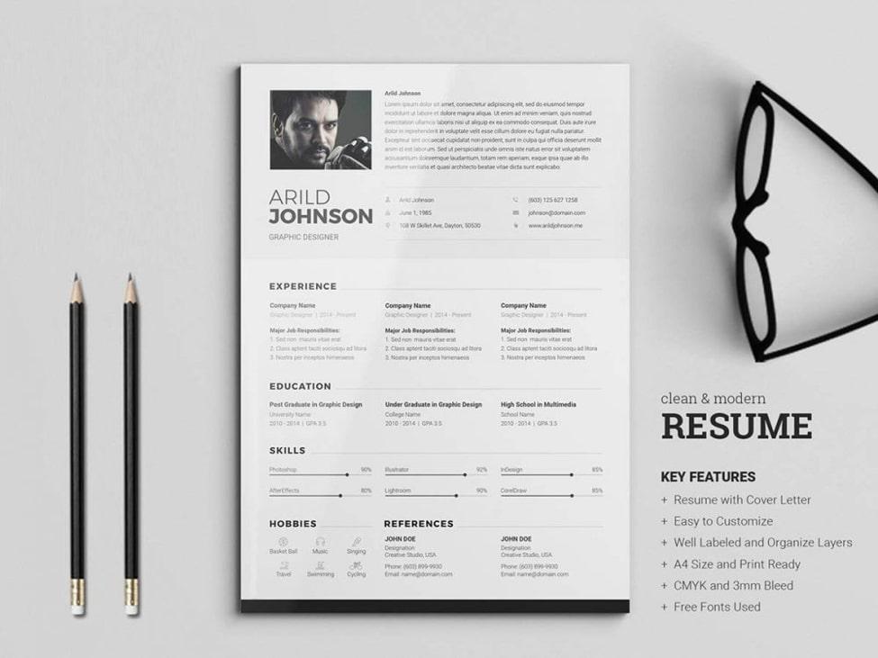 CV w Photoshop - najlepsze szablony CV w Photoshopie [14 wzorów]