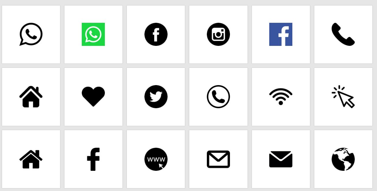 ikony do cv   100 darmowych symboli i kreator z ikonkami do cv