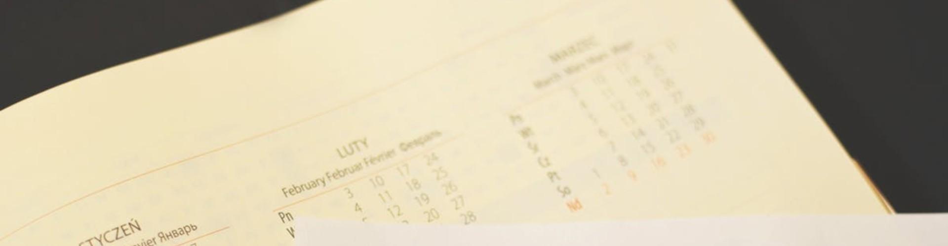 Ewidencja czasu pracy 2020 (wzór) - karta roczna i miesięczna