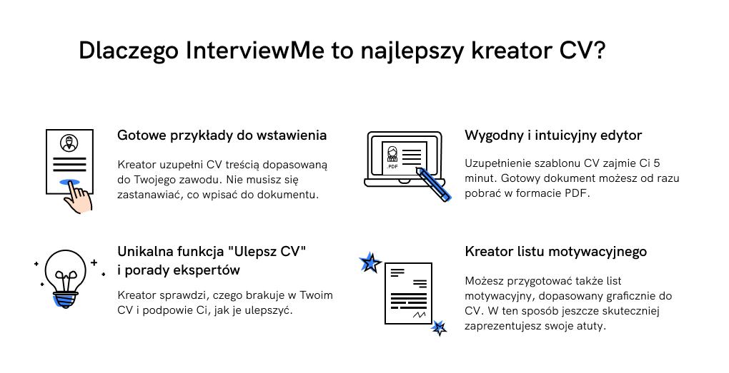 kreator cv interviewme