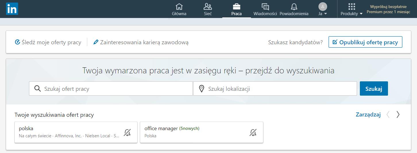 LinkedIn praca