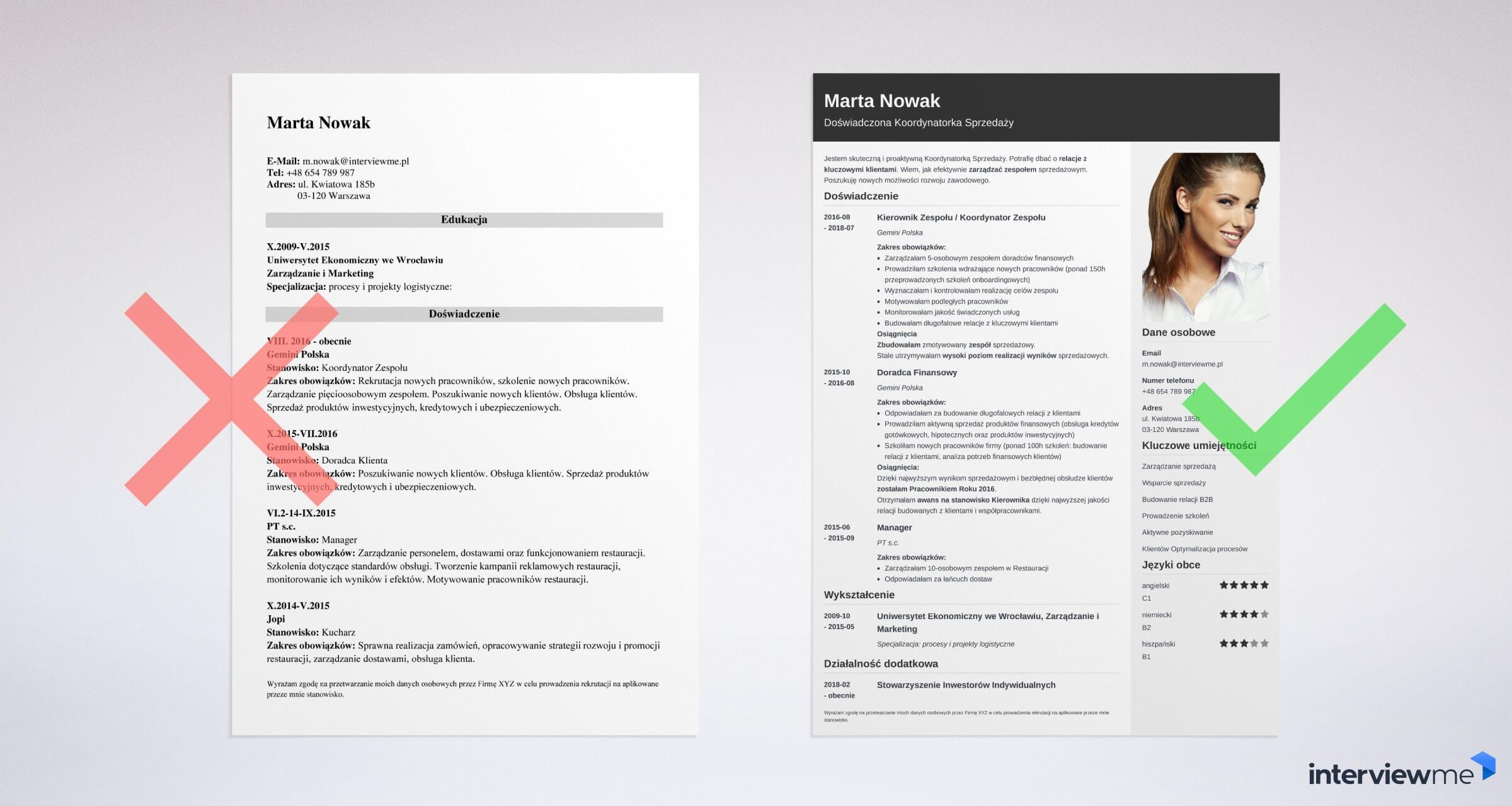 Cv I List Motywacyjny Informatyk Programista Wzór I Przykłady