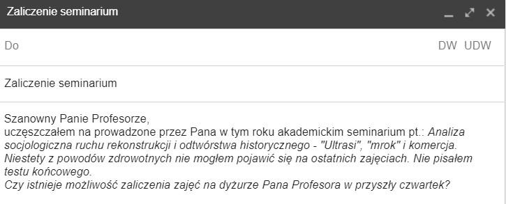 Witam I Pozdrawiam Zwroty Grzecznościowe W Mailu Porady Językowe