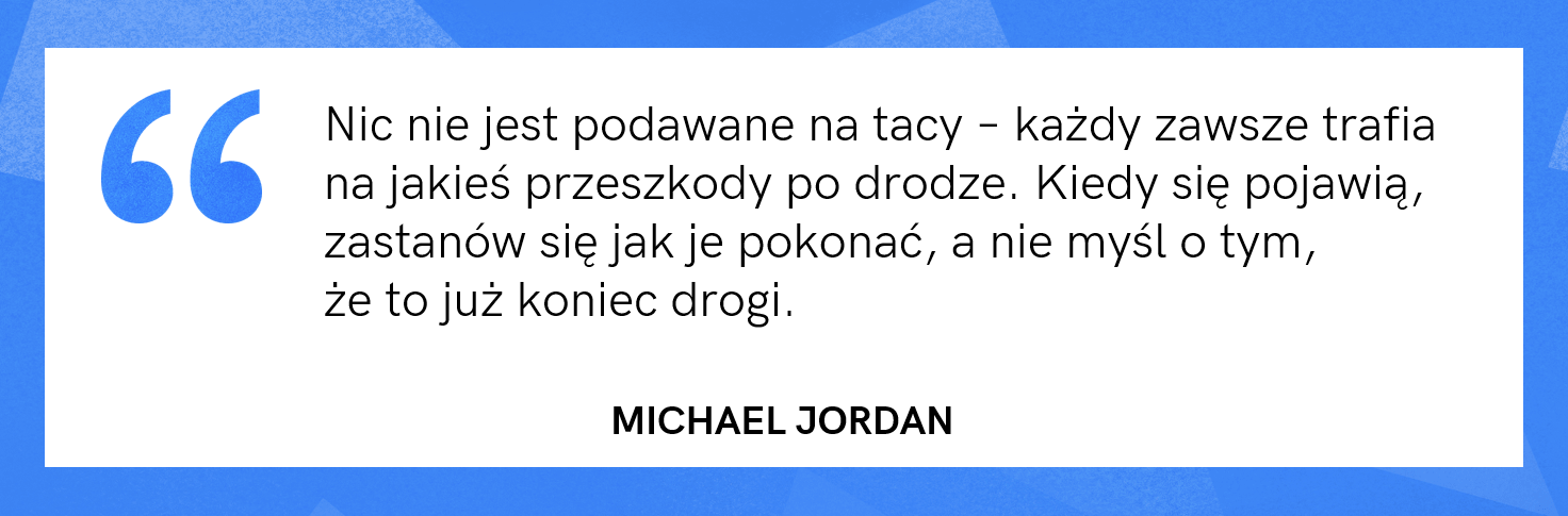 cytat motywacyjny - Michael Jordan