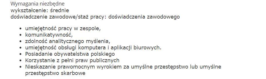 list motywacyjny referenta